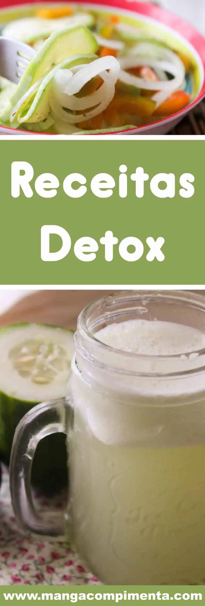 Conheça 20 Receitas Detox - comece o ano cuidando de você com pratos deliciosos!