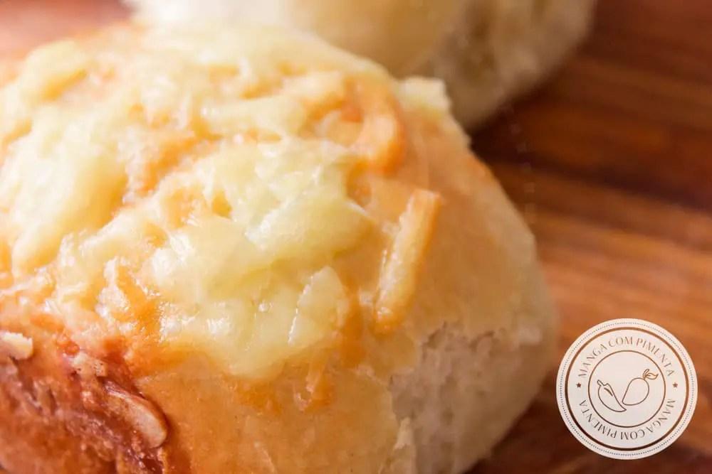 Receita de Pão de Batata recheado com Queijo - prepare para a família, amigos ou para ganhar uma renda extra!