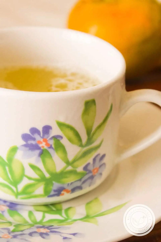 Receita de Chá de Laranja com Mel - prepare uma bebida quentinha para os dias frios!