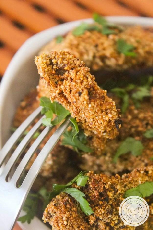 Receita de Fígado a Milanesa - prepare um prato único, para quem gosta de petiscar e servir no almoço da família.