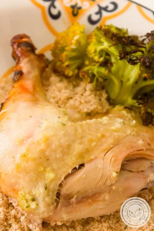 Receita de Carne com Legumes Assado