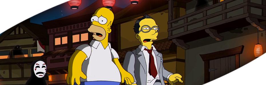 Homenaje a Hayao por los Simpson