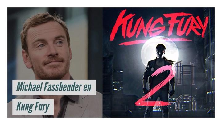 #KungFury regresa y con #MichaelFassbender
