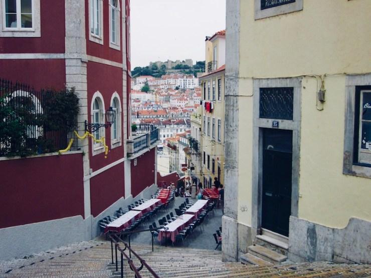 quartier Bairro Alto, Lisbonne