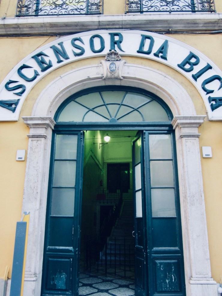 Ascenseur de Bica, Lisbonne