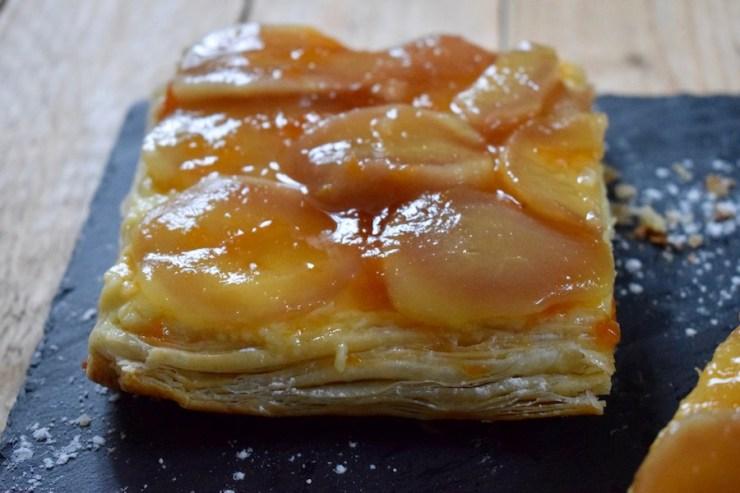 tarte feuilletée aux poires (cap cuisine)
