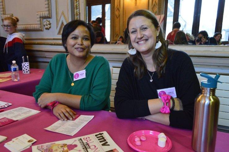 Camille Ratia et Barbara du blog Mangakel
