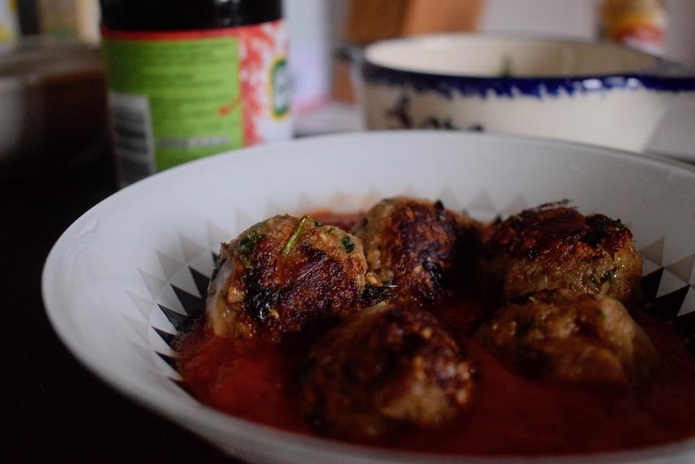 Boulettes végétariennes aux champignons et à la coriandre - Mangakel
