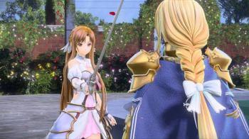 SAO Alicization Lycoris Unjuk Gameplay Kirito & Asuna