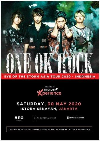 Persiapkan Diri ONE OK ROCK Akan Konser Di Jakarta Tahun Ini
