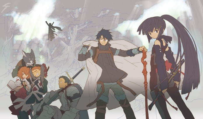Log Horizon Anime Visual