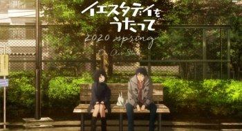 Anime Yesterday o Utatte Tampilkan Teaser Perdana