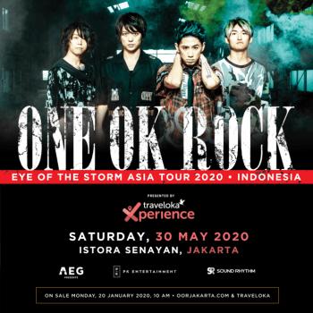 Tiket Konser Jakarta ONE OK ROCK Ludes Terjual