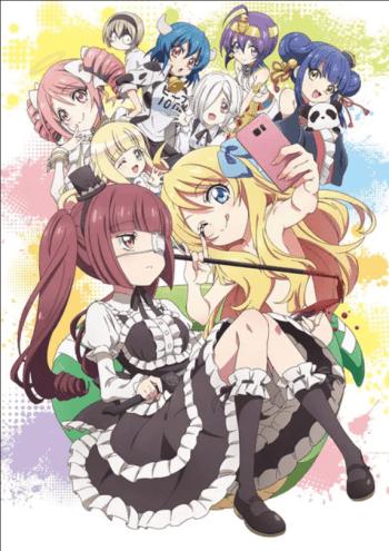 Jashin-chan Dropkick Ungkap Visual Season Kedua Animenya