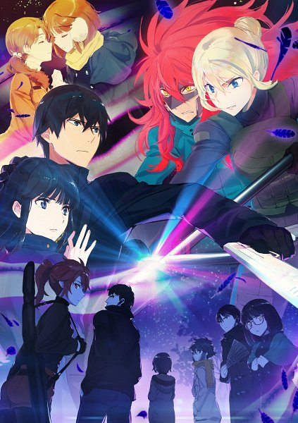 Mahouka no Rettousei Season 2 Anime Visual