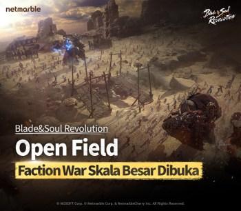 Blade&Soul Revolution Hadirkan Update Perdana Open Field Faction War Real-Time Skala Besar