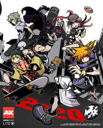 The World Ends with You Dapatkan Adaptasi Anime