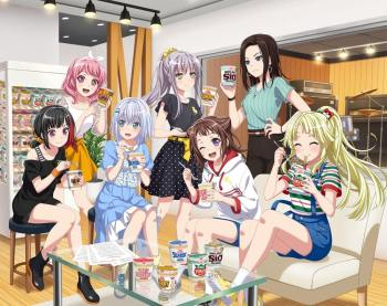Nissin Hadirkan Set Cup Noddle BanG Dream!
