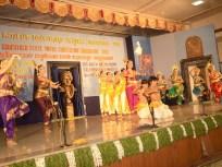0077 Bharatanatya performance by students of Alva College