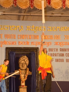 0079 Stick Dance by students of Alva College