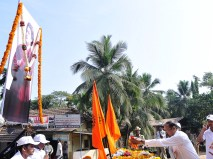 024 Dr Jeevaraj Sorake, MD, SCS Hospial Receiving the Rally at the Ramakrishna Math