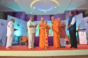 Swami Suviranandaji inaugurating the symposium