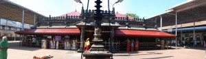 Kolluru Mookambika Temple - Front Entrance