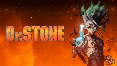 Dr Stone Anime Cover Image