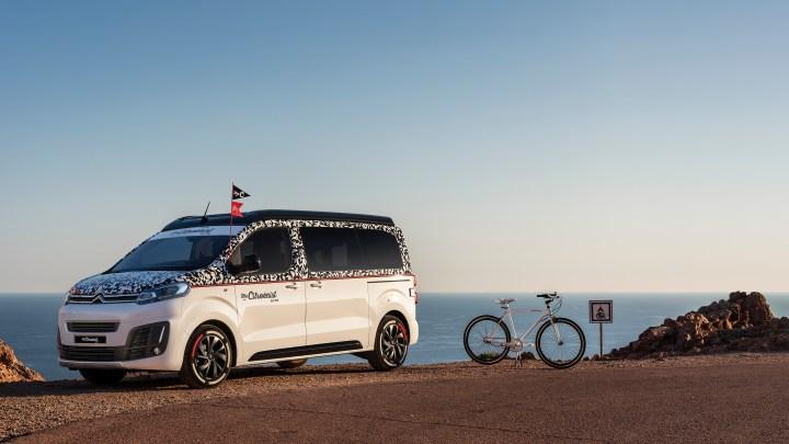 """Ženeva 2019: Citroën SpaceTourer The Citroënist Concept a """"Rider The Citroënist by Martone"""""""
