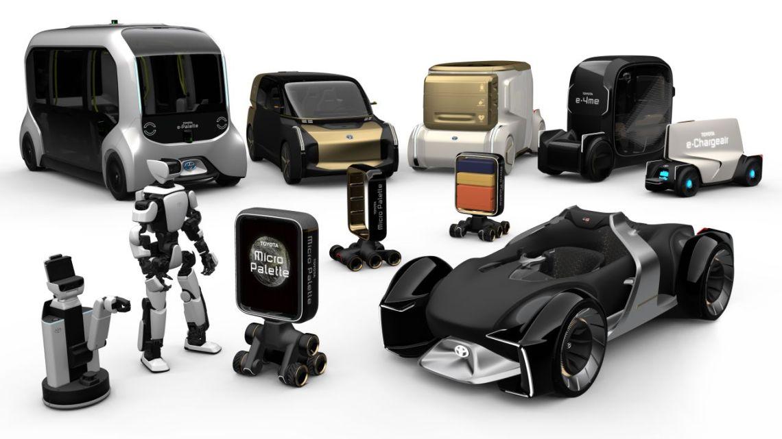 Futuristický park Toyoty: Elektrické koště, nebo auto jako lékař