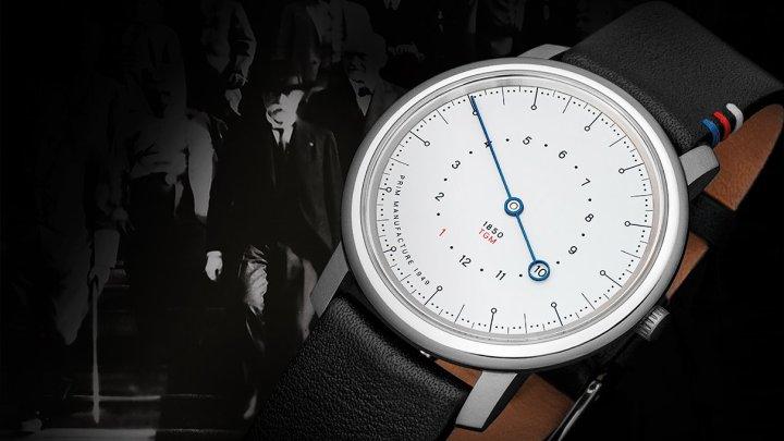 PRIM MASARYK jsou nové hodinky vzdávající poctu prvnímu československému prezidentovi. Bude jich jen 100