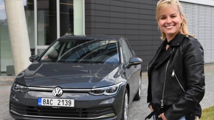 Patricie Pagáčová jezdí v novém Volkswagenu Golf