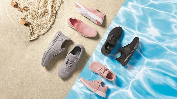 Lidl představuje boty z PET lahví, které pocházejí z oceánů