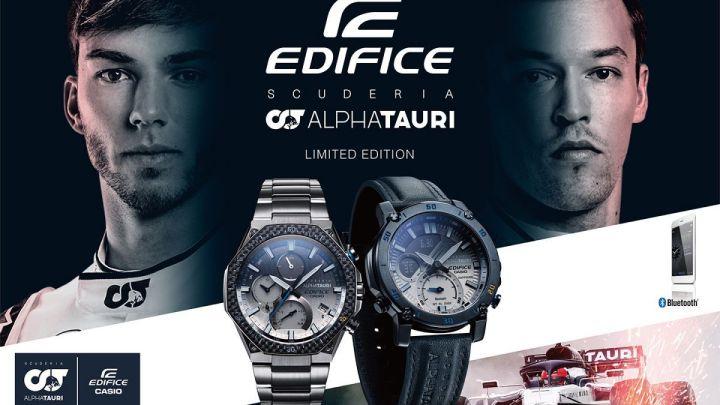 Casio představuje nové modely hodinek EDIFICE ve spolupráci s týmem F1 Scuderia AlphaTauri