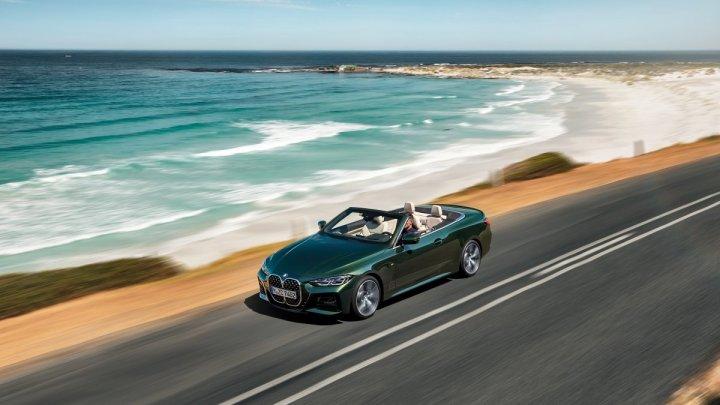 BMW představilo novou řadu 4 Cabrio. Ceny startují na 1 319 500 Kč