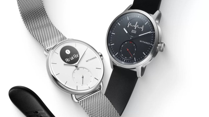Nejpokročilejší hybridní hodinky Withings ScanWatch s luxusním zpracováním míří na český trh
