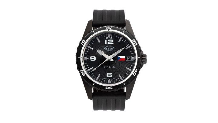 Jediné vyrobené hodinky 'PRIM ORLÍK DLC – Věrni zůstaneme' půjdou do charitativní dražby na podporu českých vojáků a veteránů