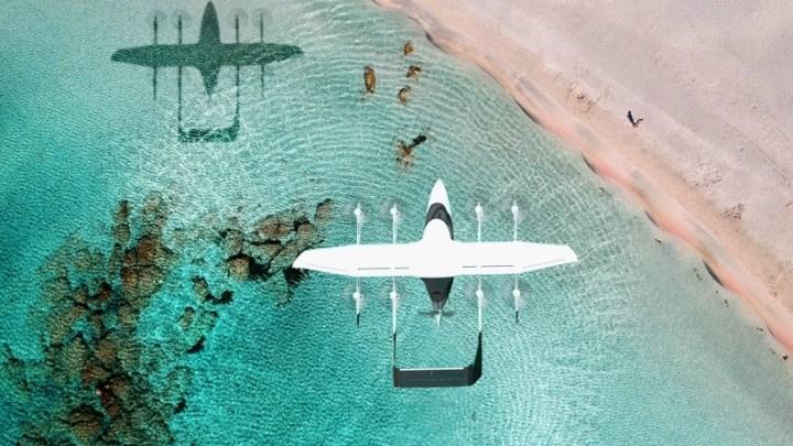 Letoun s vertikálním startem ZURI mohou zákazníci vidět dříve, než bude vyroben