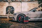 Montblanc x Pirelli je nová kolekce palubních zavazadel vybavená mini pneumatikami Pirelli