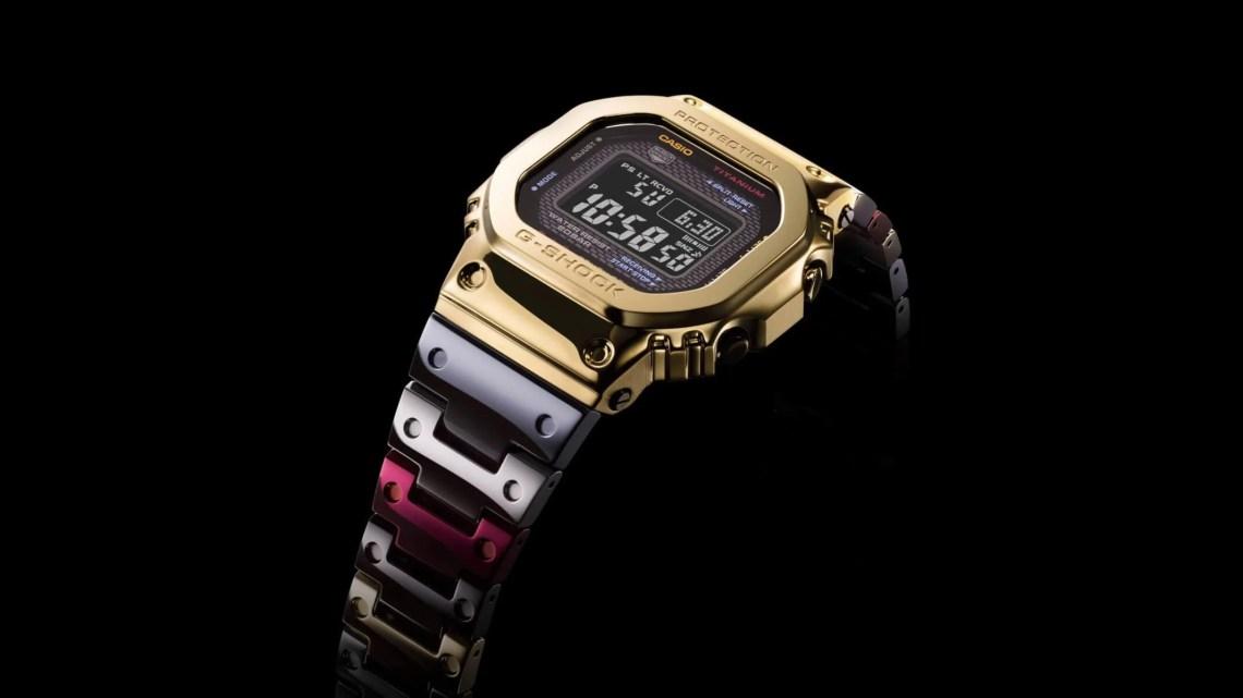 Casio G-SHOCK GMW-B5000TR jsou hodinky z nové titanové slitiny značky TransTixxii