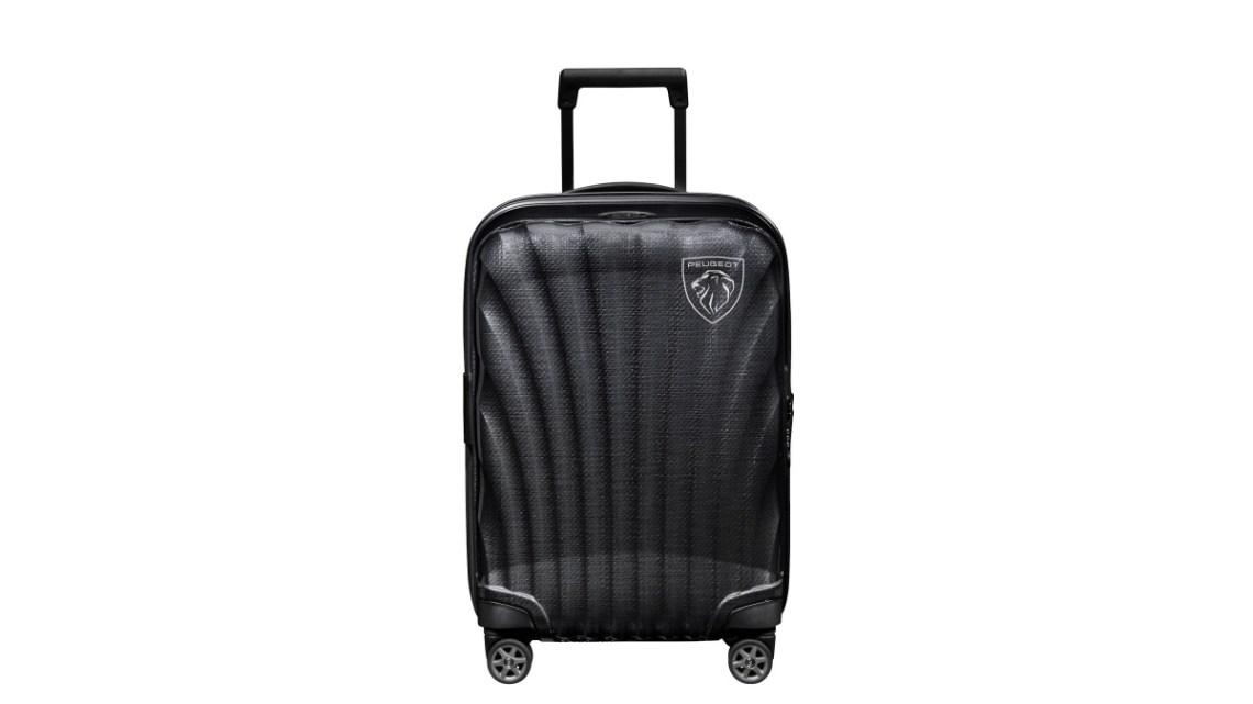 Peugeot a Samsonite jsou partneři, Představují kabinové zavazadlo
