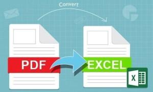 2 cách chuyển file PDF sang Excel không bị lỗi font
