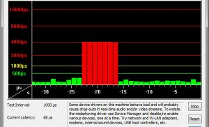 DPC Latency Checker kiểm tra khả năng xử lý của hệ thống
