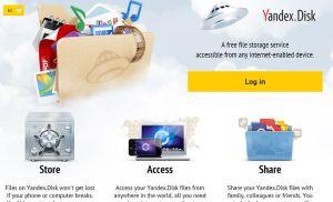 20 GB lưu trữ miễn phí từ Yandex