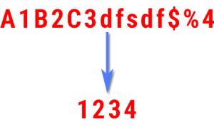 Tách số từ chuỗi ký tự bằng Javascript