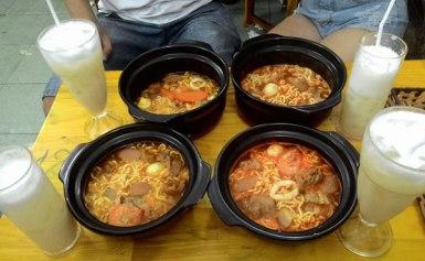 Mì Cay Korea – Nơi thử thách khả năng ăn cay của dân Quy Nhơn