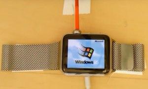 Cài đặt và sử dụng Windows 95 trên Apple Watch