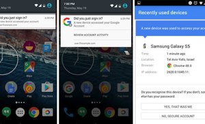 Android sẽ thông báo khi tài khoản Google của người dùng đăng nhập trên thiết bị lạ