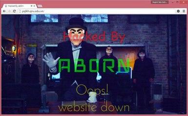 Website trường đại học Quy Nhơn bị tấn công trước thềm năm học mới