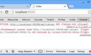 Khắc phục tình trạng XMLHttpRequest cannot load…